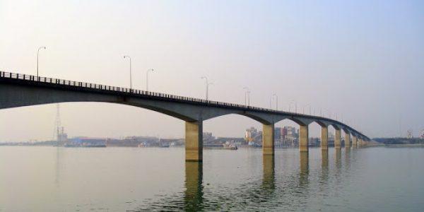 MEGHNA BRIDGE, BANGLADESH